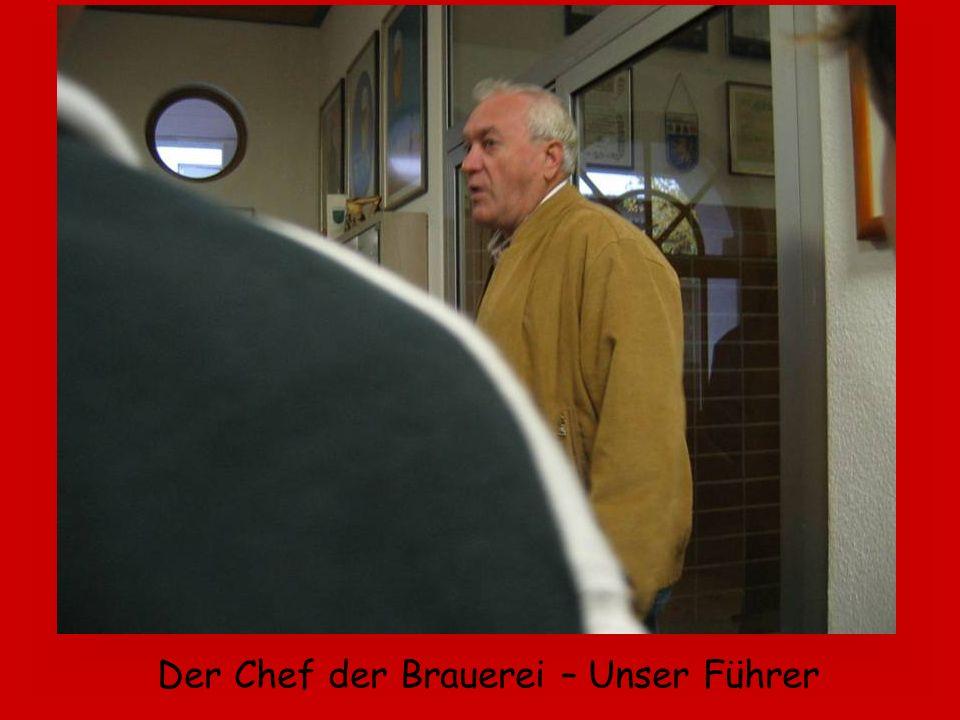 Der Chef der Brauerei – Unser Führer