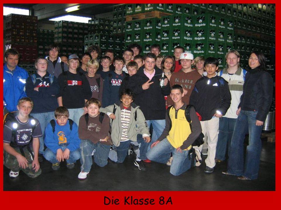Die Klasse 8A