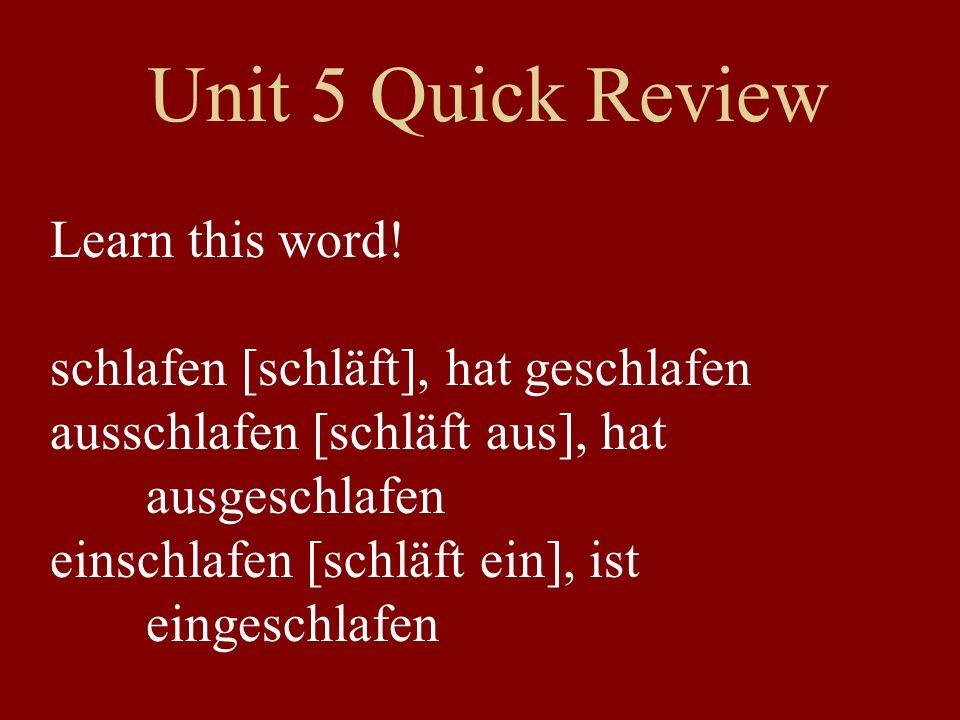 Verbs for NOW ichmach-ewirmach-en er/siemach-tSie/siemach-en The normal pattern: