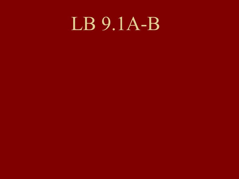 LB 9.1A-B