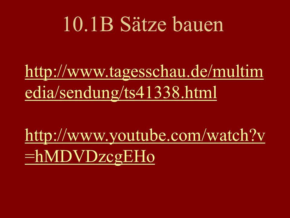 http://www.tagesschau.de/multim edia/sendung/ts41338.html http://www.youtube.com/watch v =hMDVDzcgEHo