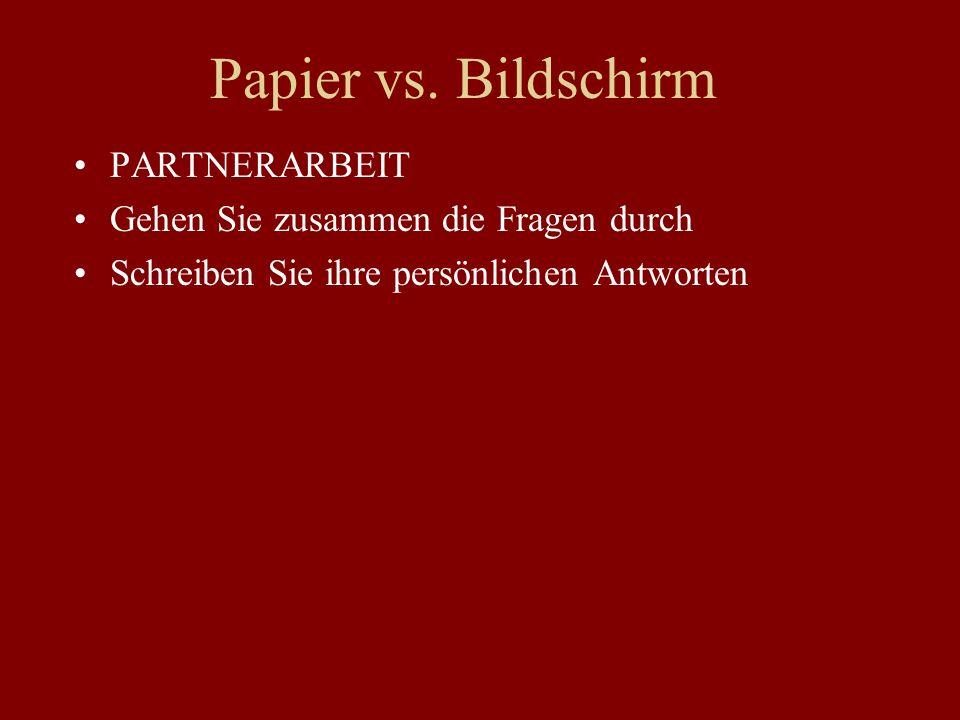 Papier vs.