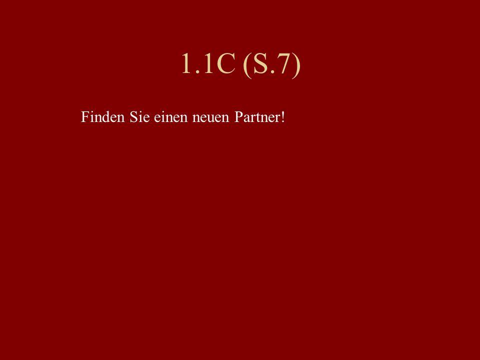 1.1D S.8 Freunde – Bekannte Merkmale listen!