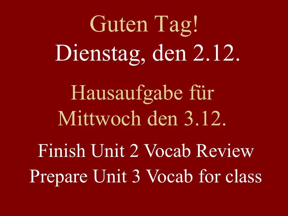 Lernbuch – Unit 2