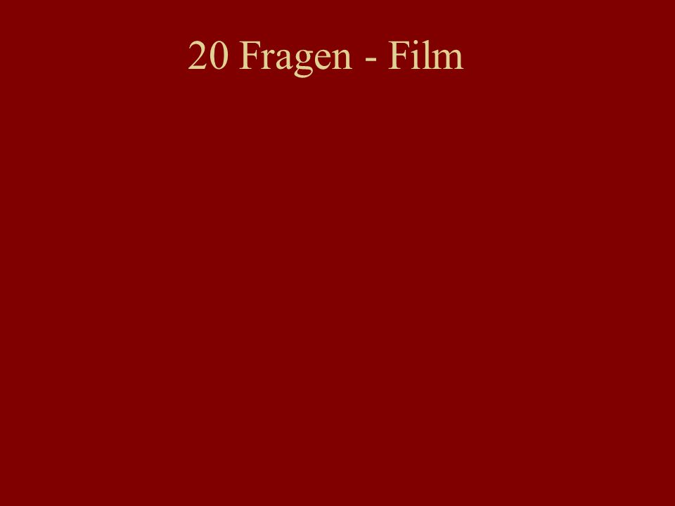 20 Fragen - Film