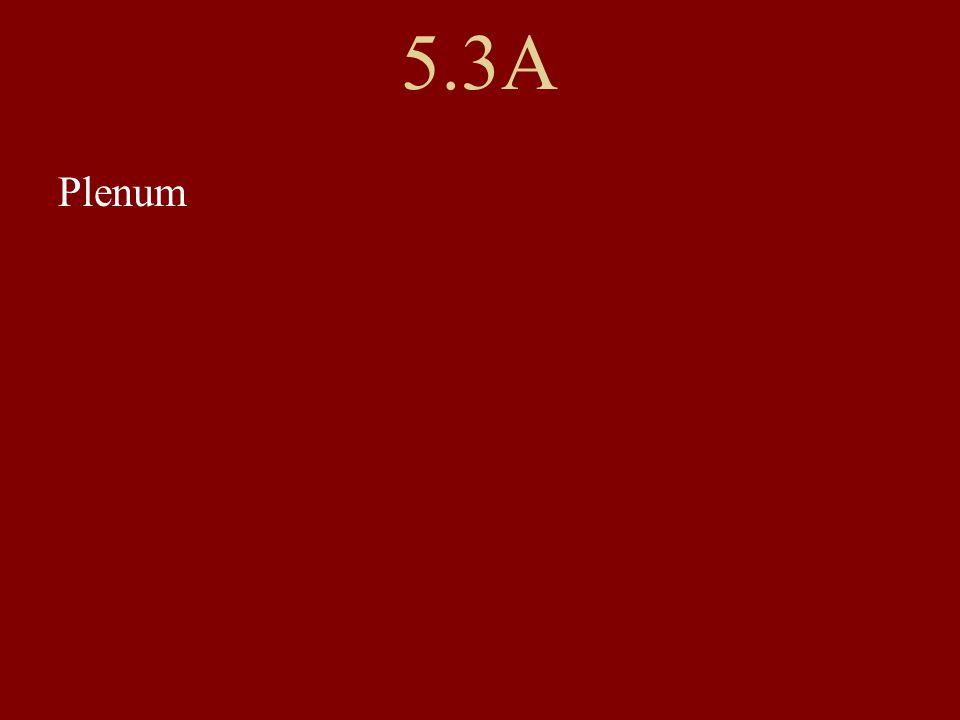 5.3A Plenum