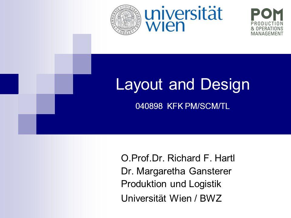 Layout and Design (c) Prof.Richard F.