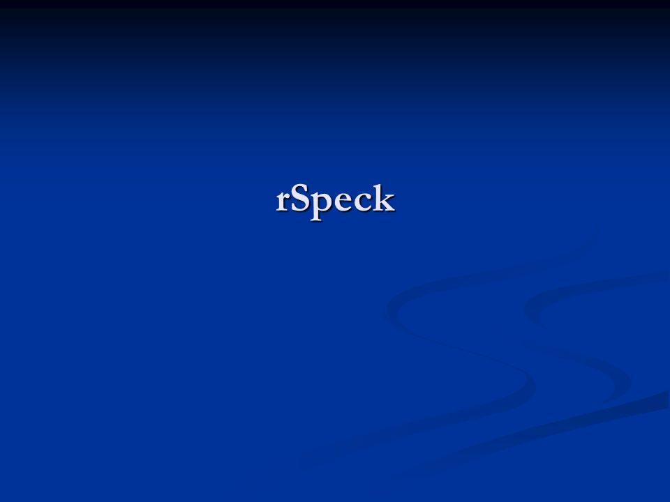rSpeck
