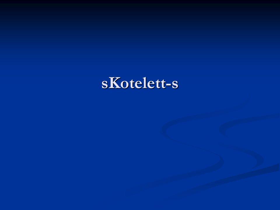 sKotelett-s