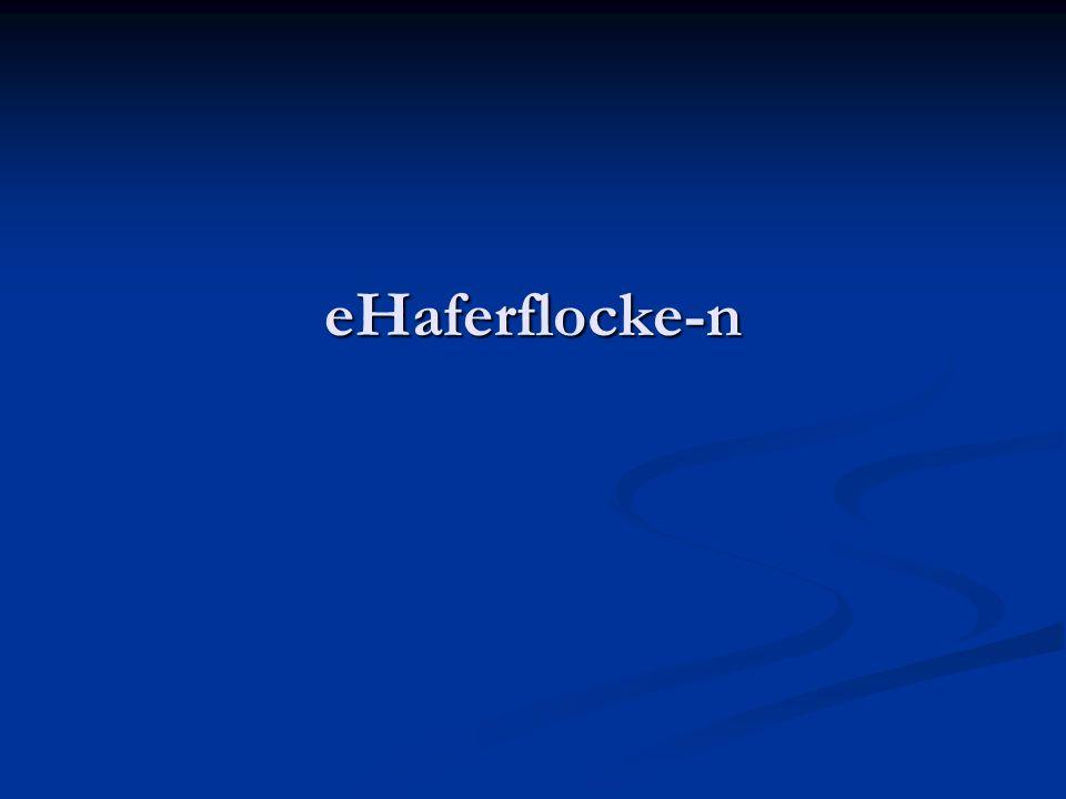 eHaferflocke-n