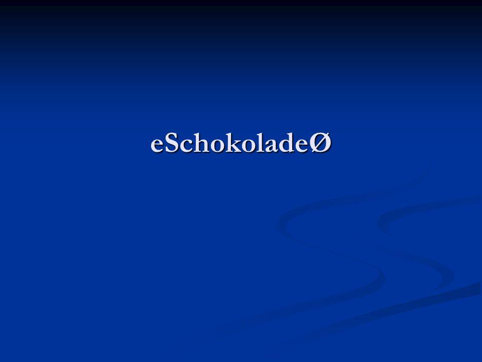 eSchokoladeØ