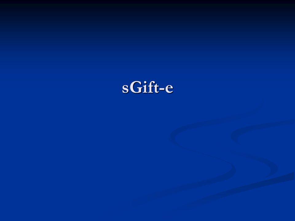 sGift-e