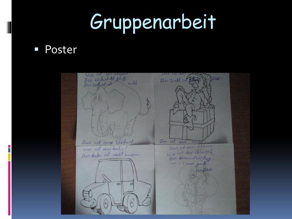 Gruppenarbeit Poster