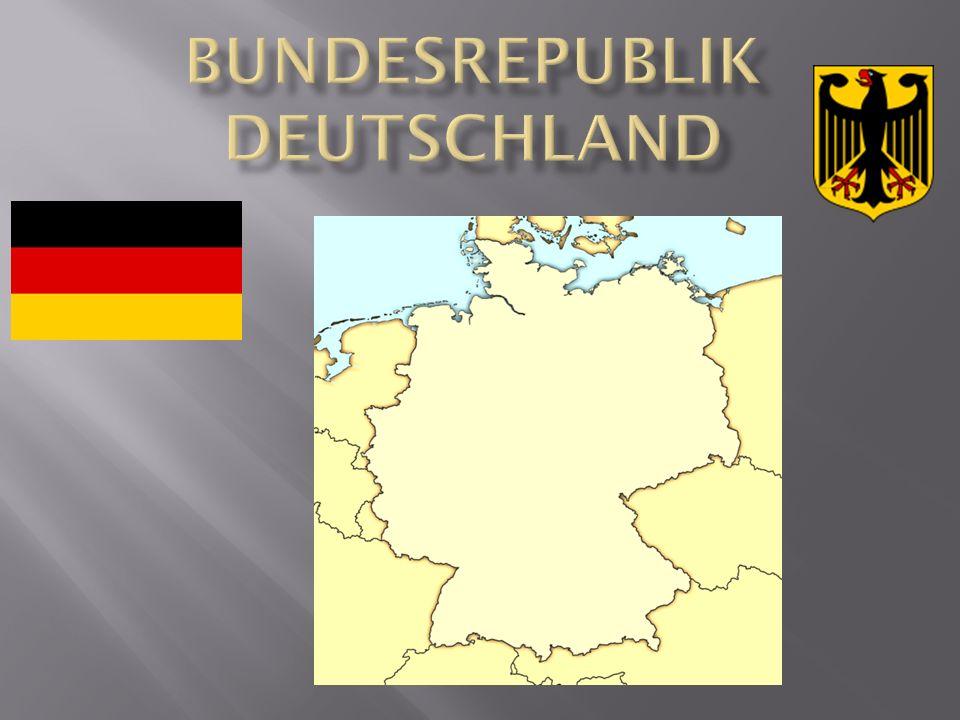Deutschland grenzt an: im Norden – Dänemark, die Ostsee, die Nordsee im Osten – Polen, Tschechien im Süden: Österreich, Liechtenstein, die Schweiz im Westen: Frankreich, Luxemburg, Belgien, Holland