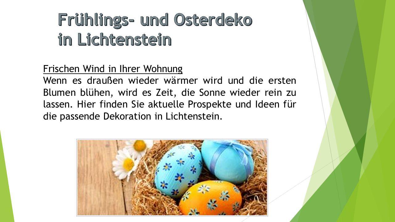 OSTERN Ostern in der Schweiz