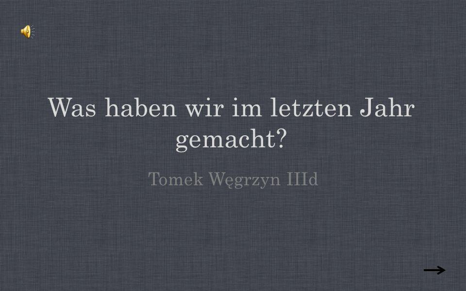 Naturlich, es geht um Deutschunterrichten.