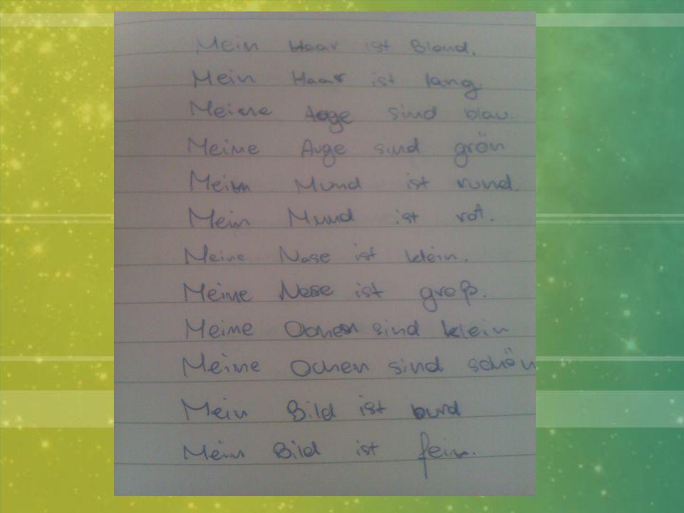 Notizen Wir Schreiben Notizen, die helfen uns erinnern Material: