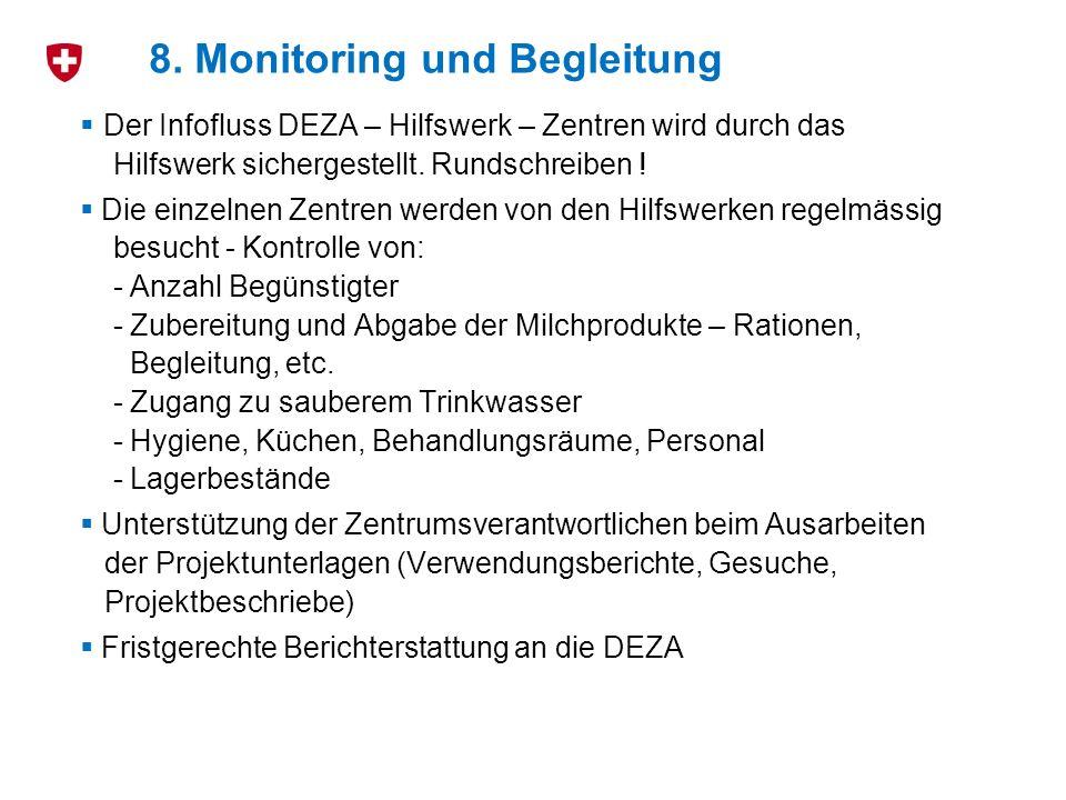Der Infofluss DEZA – Hilfswerk – Zentren wird durch das Hilfswerk sichergestellt.