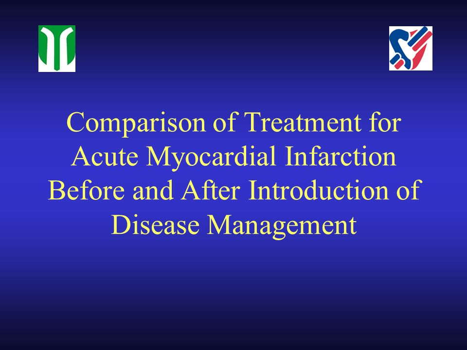 Comparison of Treatment for Acute Myocardial Infarction Before and After Introduction of Disease Management