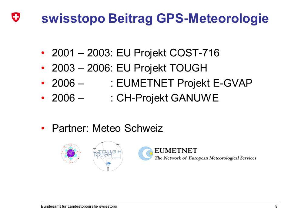 19 Bundesamt für Landestopografie swisstopo 4. Quality Checks – Comparison with PP