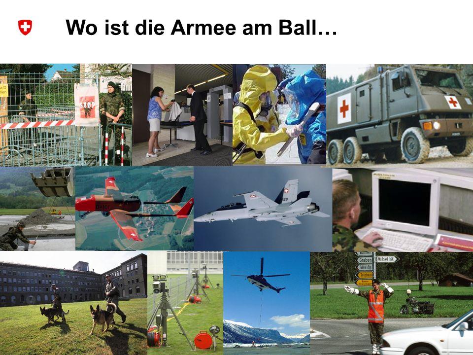 9 Schweizer Armee Chef Führungsstab der Armee Wo ist die Armee am Ball…
