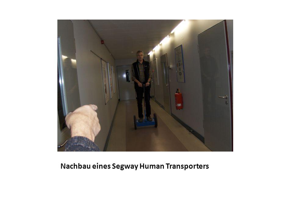 Nachbau eines Segway Human Transporters