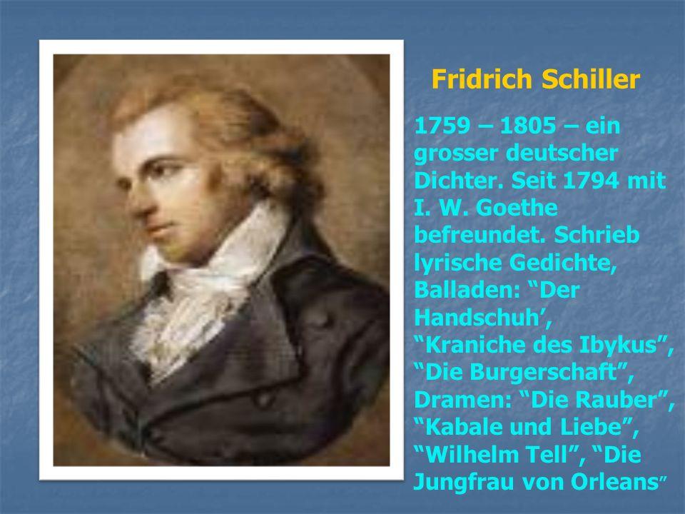 Heinrich Heine 1797 – 1856 – ein grosser Dichter Und Satiriker. Schrieb lyrische, politisch – satirische Gedichte und Prosawerke. Die bekanntesten sin