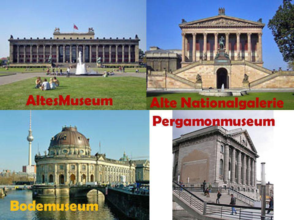 AltesMuseum Alte Nationalgalerie Bodemuseum Pergamonmuseum