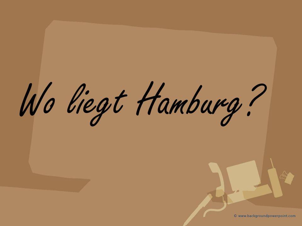 Wo liegt Hamburg?