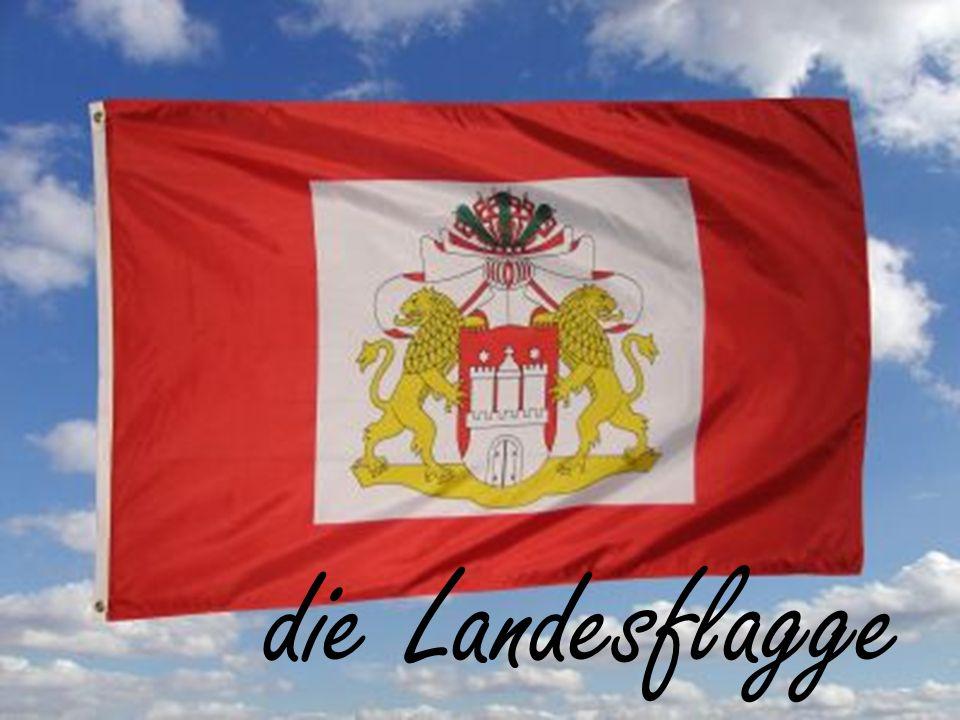 die Landesflagge