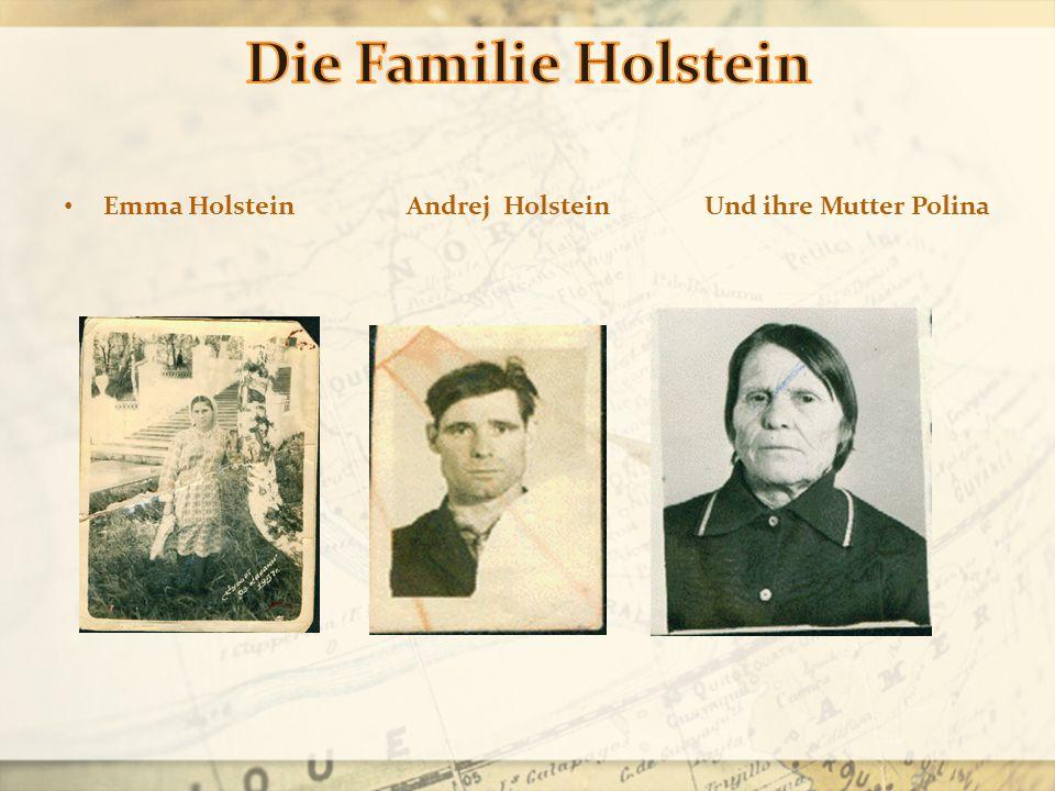 Emma Holstein Andrej Holstein Und ihre Mutter Polina