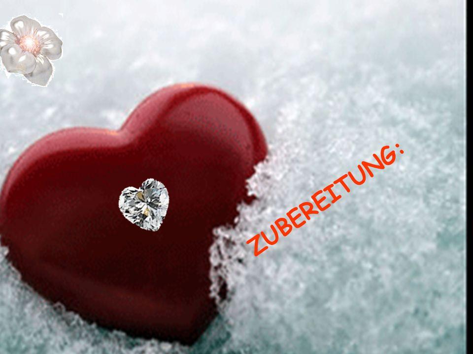 Das Herz schälen, jeglichen Groll und Eifersucht entfernen, so dass nur noch wahre Offenherzigkeit übrig bleibt.
