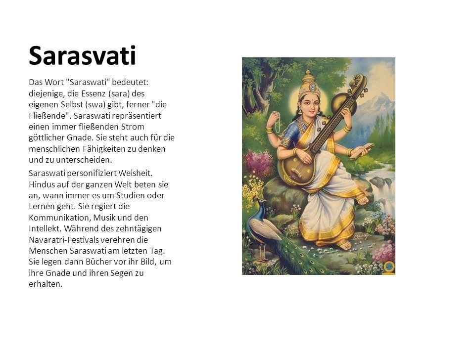 Sarasvati Das Wort