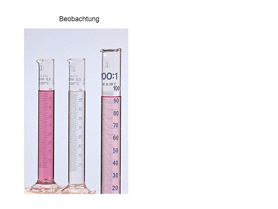 Heizung 15 g Stearinsäure 4.5 ml Arachidöl Plastikpipette Waage 7.5 ml Triethanolamin 50 ml Wasser Dispenser Messzylinder auf 85° C erhitzen (nicht höher!!) Wasserphase portionenweise in Fettphase einrühren Thermometer zuerst in Fettphase Glasstab in Wasserphase