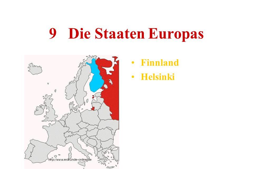 9 Die Staaten Europas Finnland Helsinki