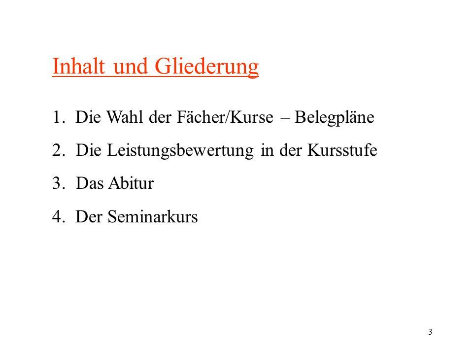 4 Begriffsklärungen Oberstufe Einführungsphase Klassen 10/11 Qualifikationsphase oder Kursstufe mit 4 Kurshalbjahren 1.