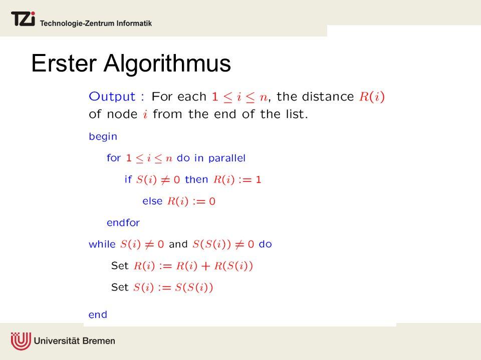 Erster Algorithmus