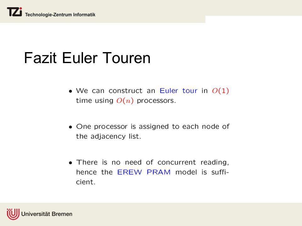 Fazit Euler Touren