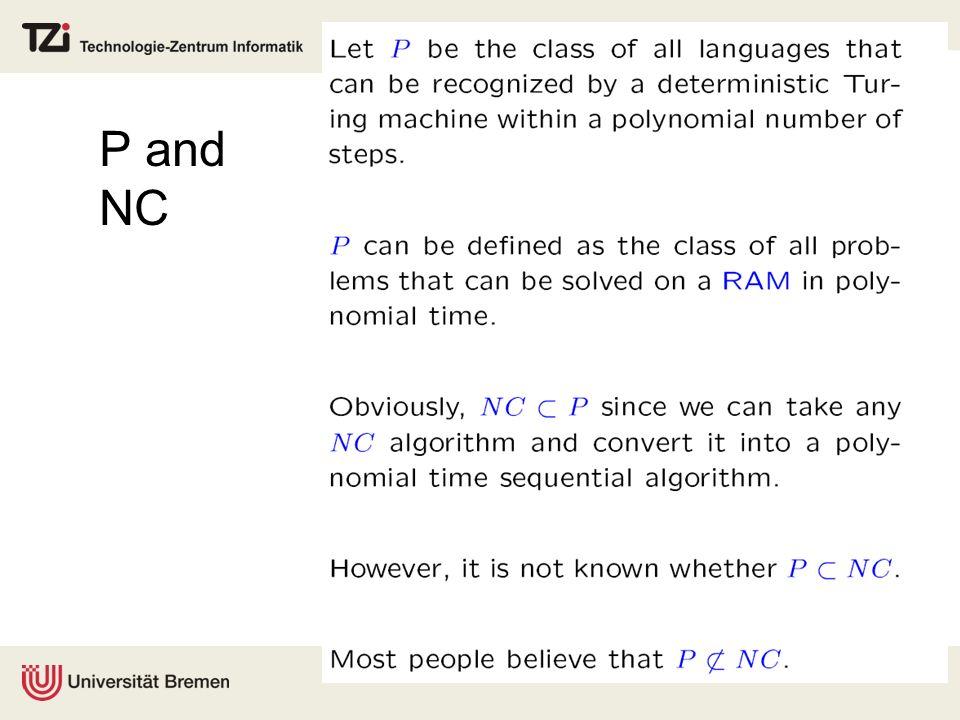 P and NC