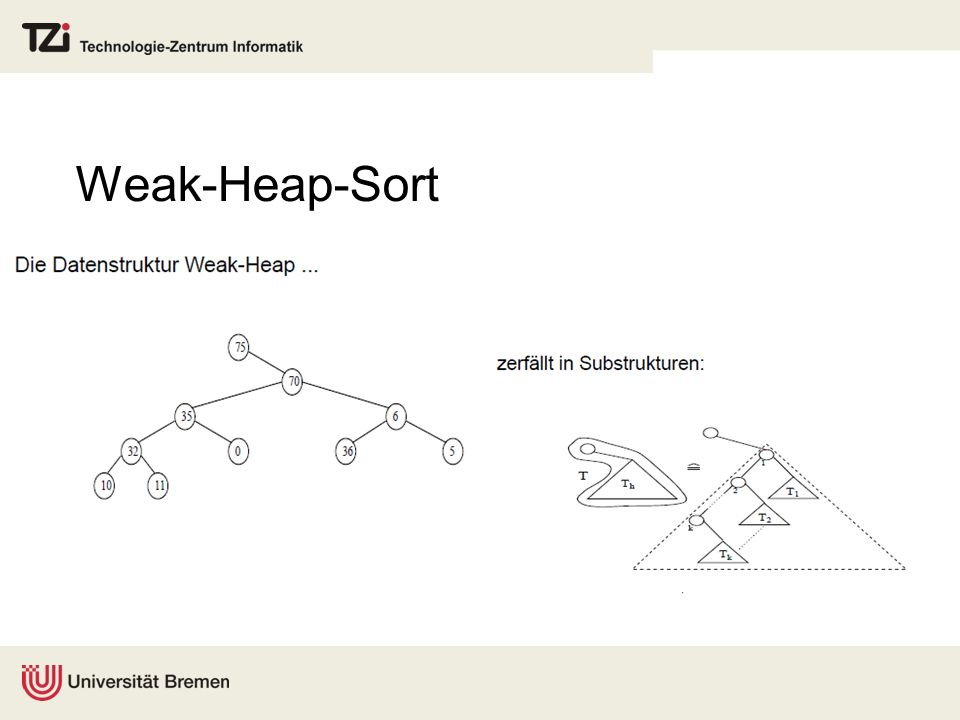 Weak-Heap-Sort