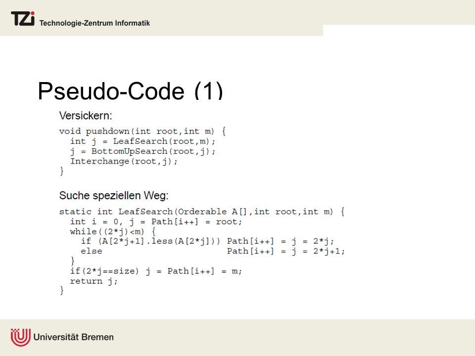 Pseudo-Code (1)
