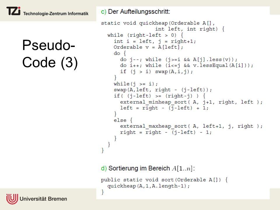 Pseudo- Code (3)