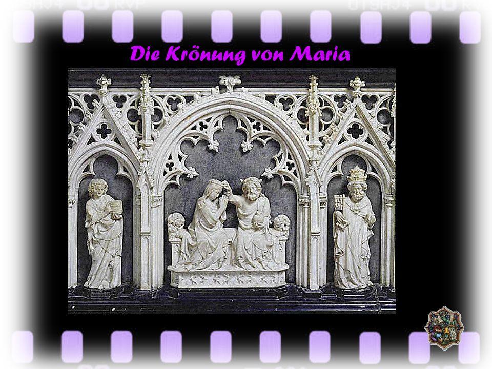 Der Klaren-Altar GESCHLOSSEN GEÖFFNET