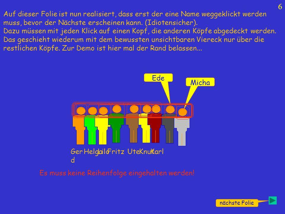 7 Exit FritzKnutUteKarlGer d HelgaLilo Micha Ede..und hier wieder ohne Rand.