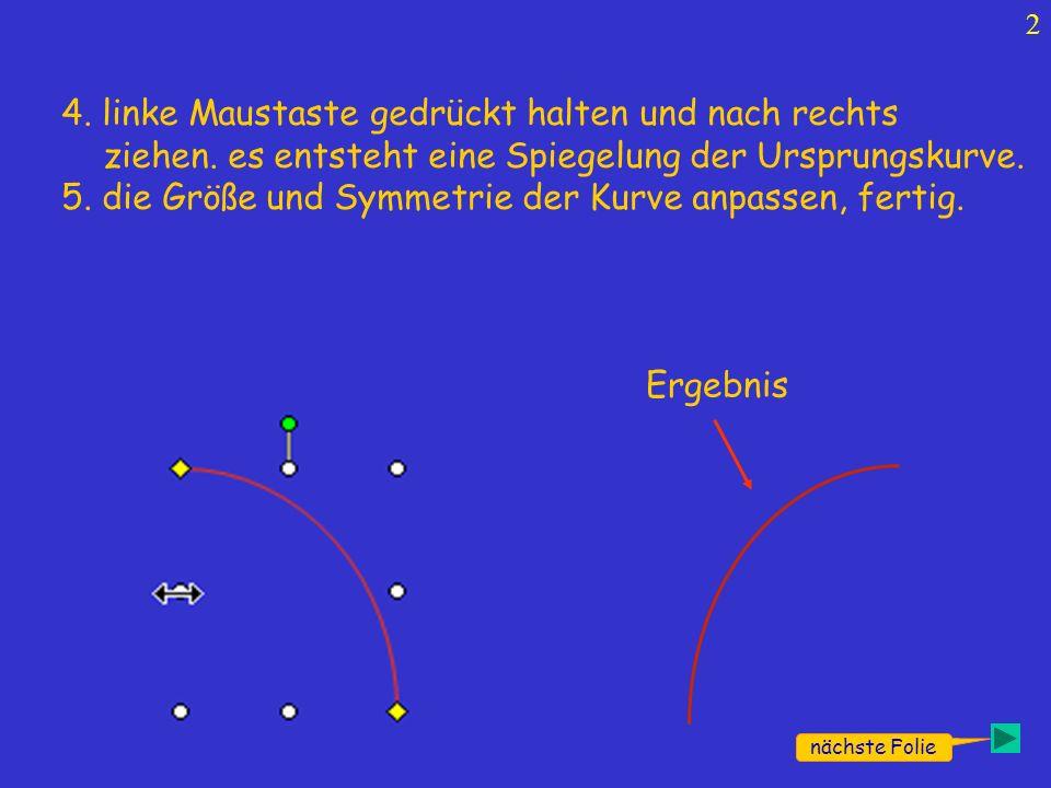 3 y=x 2 -x-2y=x 3 Gespiegelte Kurven.