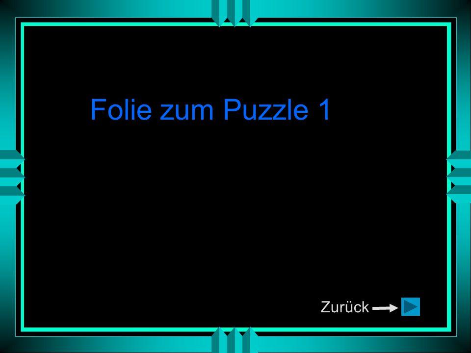 Zurück Folie zum Puzzle 1