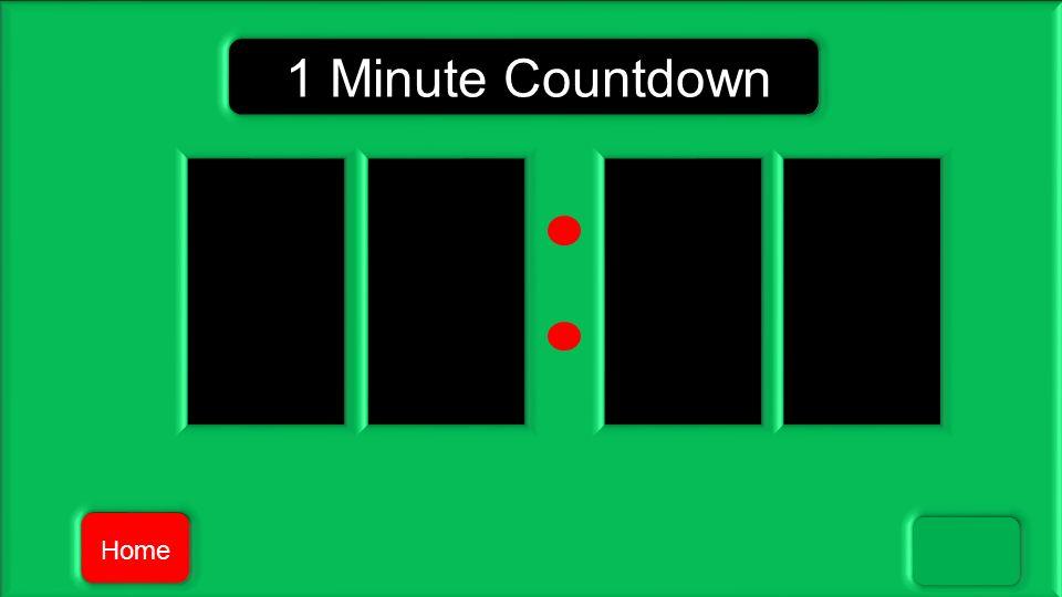 1 Minute Countdown