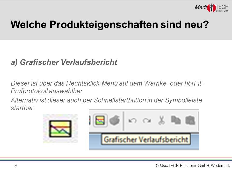 © MediTECH Electronic GmbH, Wedemark 4 Welche Produkteigenschaften sind neu.