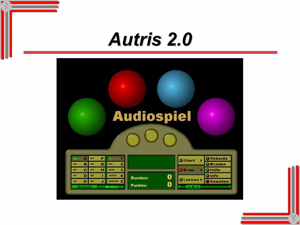 Fakten zu Autris Das Programm Autris erhalten Sie auf CD-ROM.