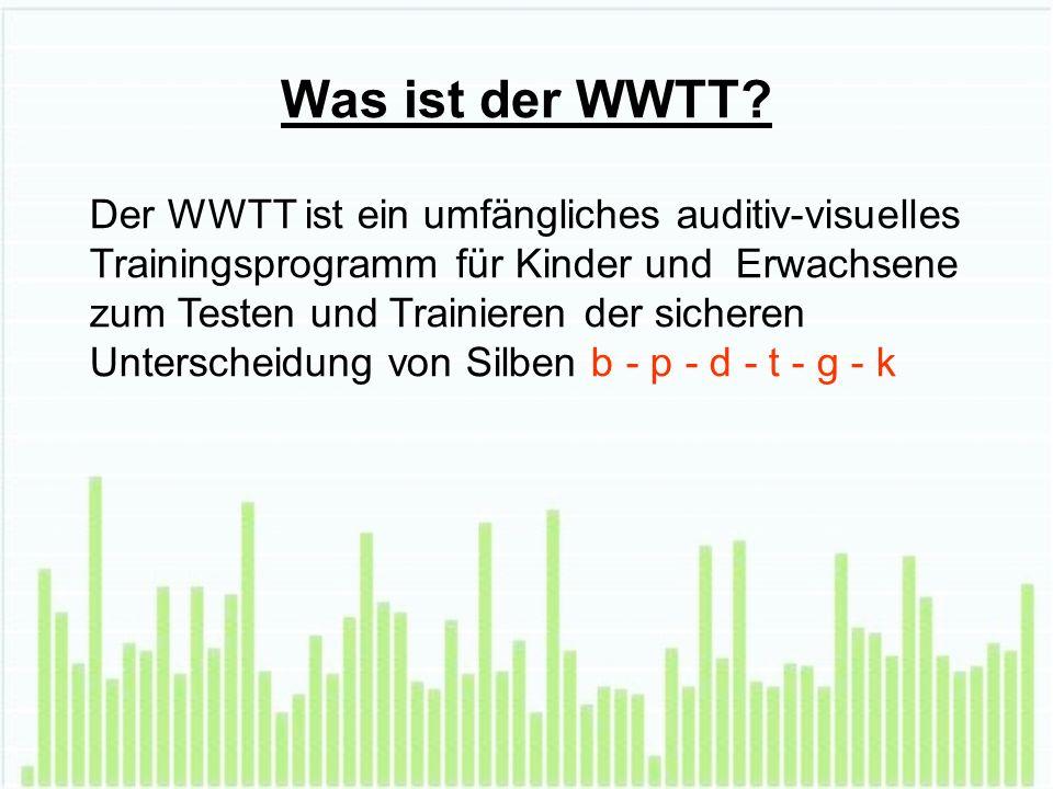 Was ist der WWTT.